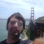 Dan Fife at the Golden Gate Bridge