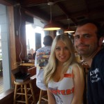 Dan Fife at Hooters in Panama City Beach